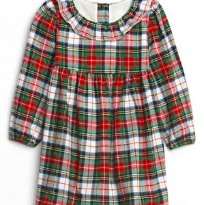 Baby Gap Plaid Dress NWT